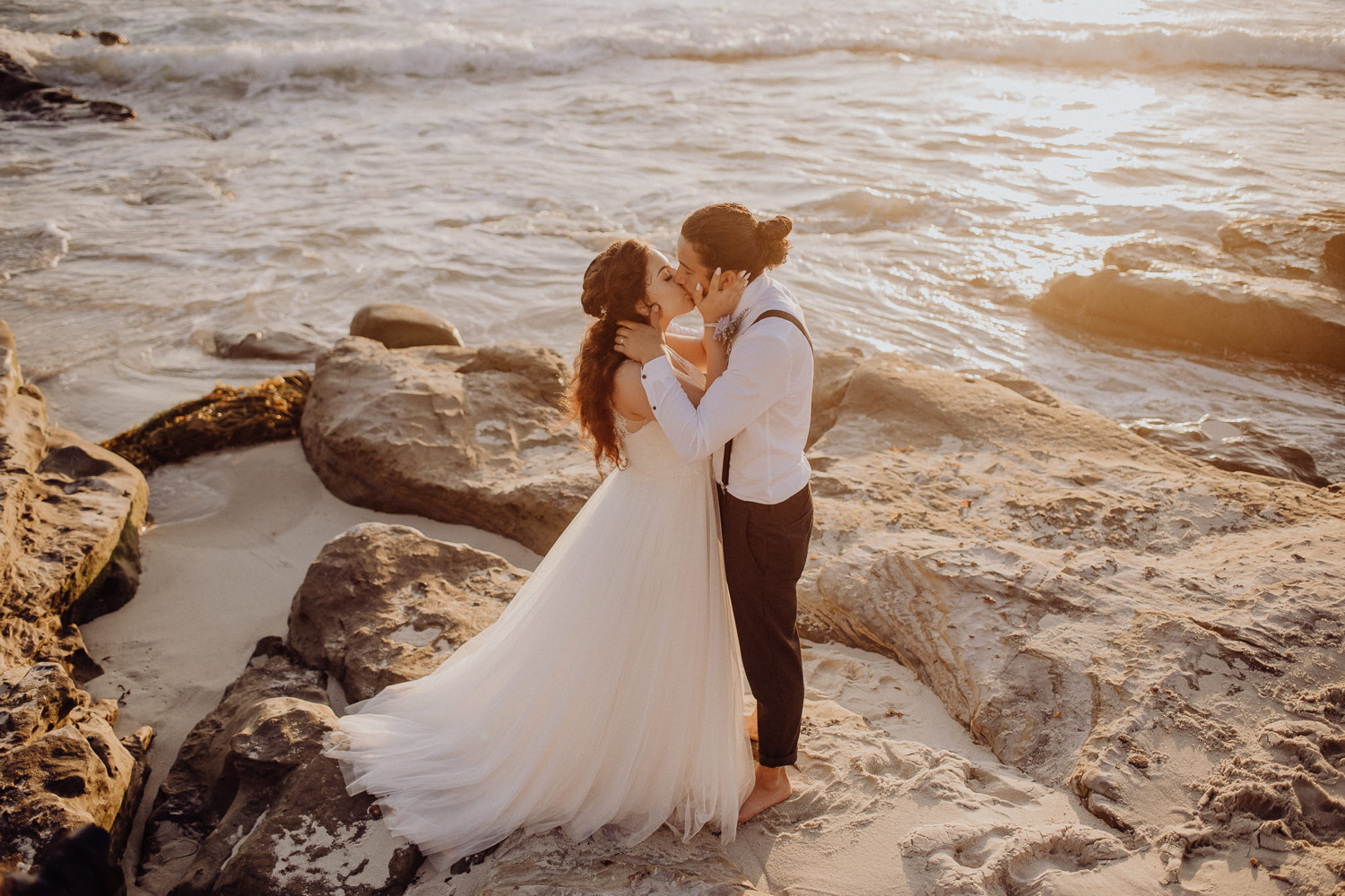 Jessica + Abisaí | Southern California Beach Wedding