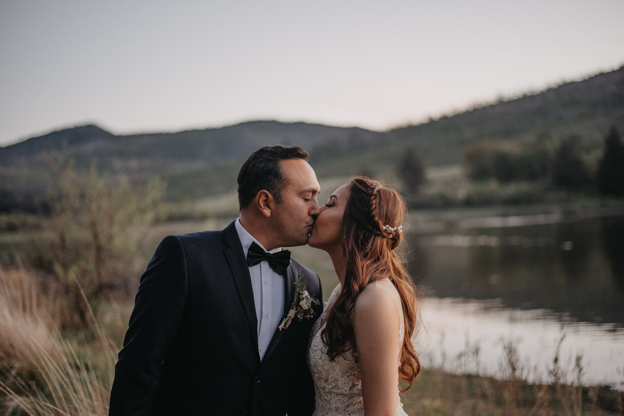 Intimate Lakeside Wedding
