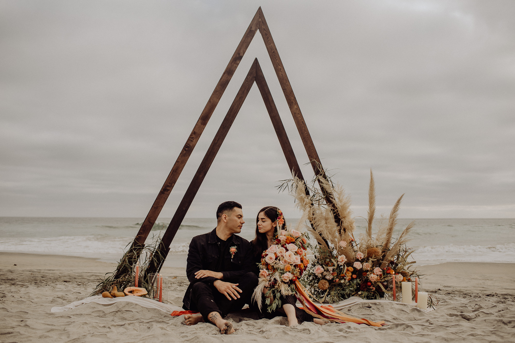 Fernanda + Chris | Rosarito Beach Elopement