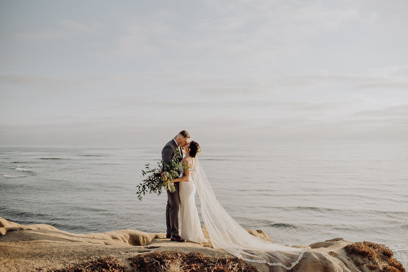 Maria + Tyler | Elope to Sunset Cliffs