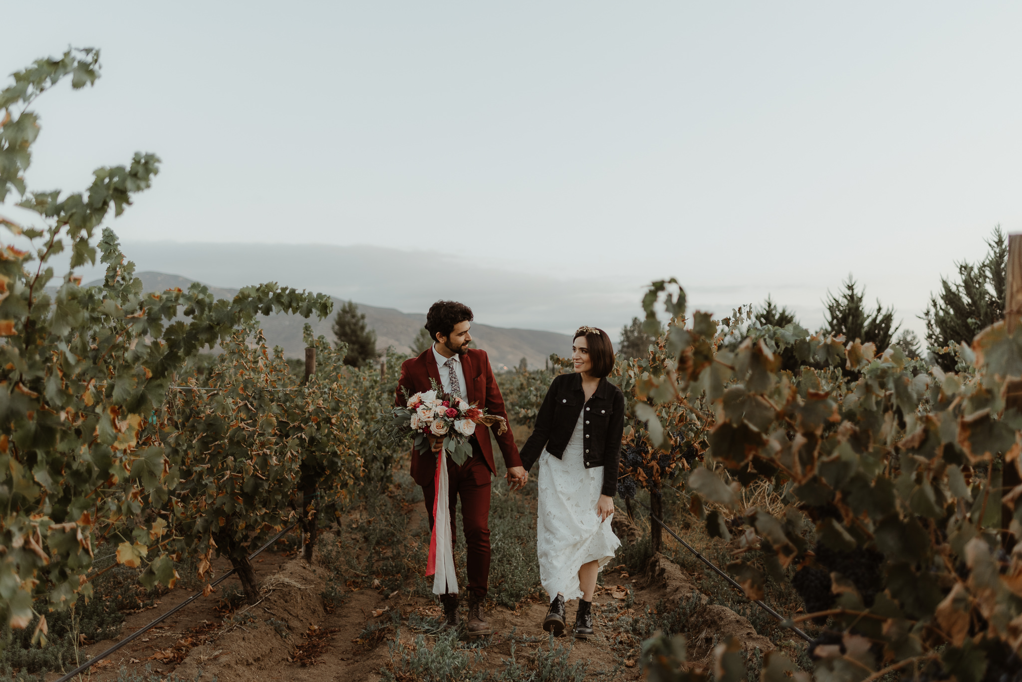 Yareli + Isra | Intimate wedding in Valle de Guadalupe