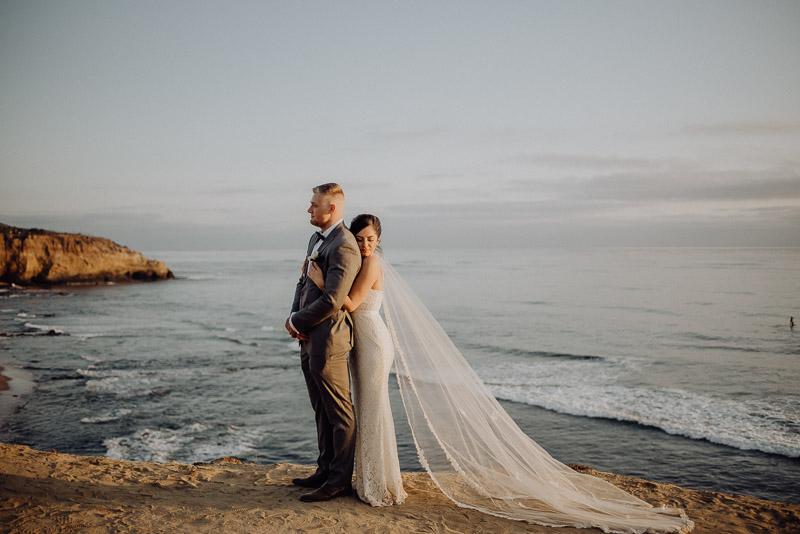 María + Tyler | Sunset Cliffs Elopement