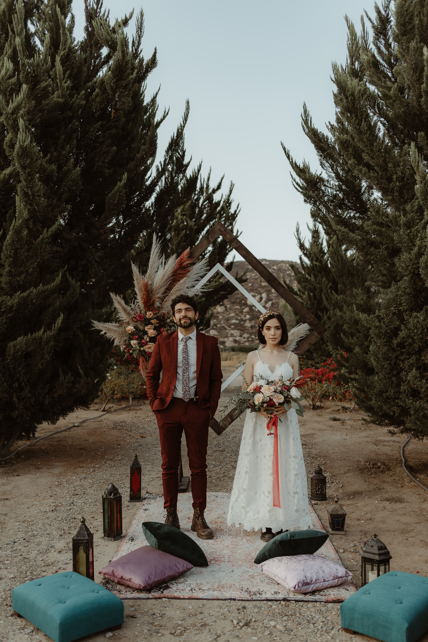 Intimate wedding in Valle de Guadalupe